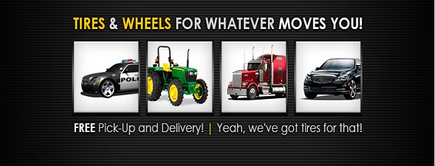 Tire & Wheels for Whatever Moves You!