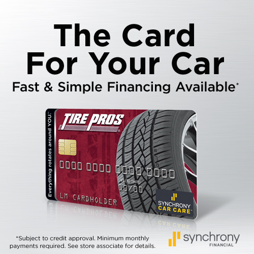 Tire Pros Financing Available at Ed Whitehead's Tire Pros, serving in Yuma, Wellton and Casa Grande Arizona areas, is the tire and auto repair service center for all your needs. Quality tires and service for over 10 years.