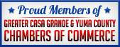Ed Whitehead's Tire Pros is a Proud Member of Greater Casa Grande, AZ & Yuma County